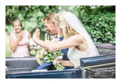 Wedding celebrations at Glemham Hall