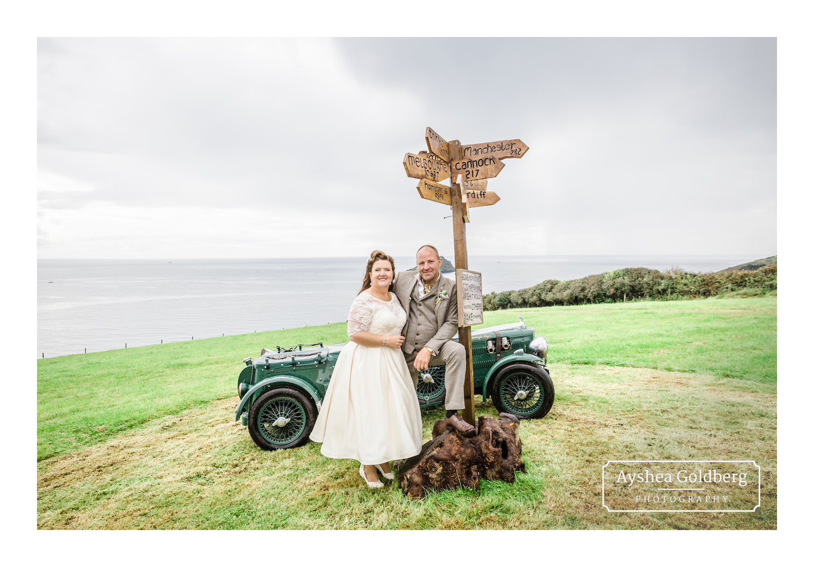 1940s themed wedding in Plymouth